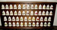 Danbury Mint Official State Flower 50 Bells And Rack