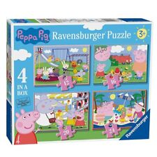 4 in 1 Puzzle Box   Peppa Wutz   Peppa Pig   Ravensburger   Kinder Puzzle