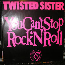 "Twisted Sister -  You Can't Stop Rock´ N´ Roll - 12""Maxi von 1983"