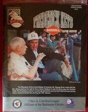 (2) Frederick Keys Programs Minor League 1992 2006