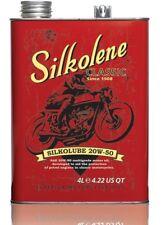 Silkolene 20w-50 Classic Triumph BSA Vintage Motorcycle Engine Oil 4 litre 4L