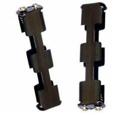 Pair of Aa Battery Metal Detector Replacement Holders Garrett Gta At Pro Gold