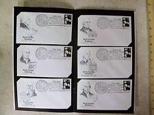 North Carolina Statehood Stamp Envelope Bicentennial 25 postmarked 1989