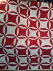 Antique+Vintage+Red+Quilt