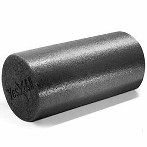 Yes4All Premium Medium Density Round PE Foam Roller for Physical Therapy - 12...