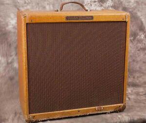 Vintage 1957 Fender Bassman Amp Tweed
