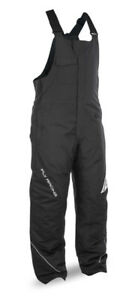 Fly Racing Men's Outpost Snowmobile Bib-BLACK, Small
