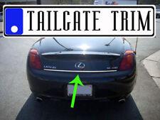 Lexus SC SC430 430 2002 2003 2004 2005-2010 Chrome Tailgate Trunk Trim Molding