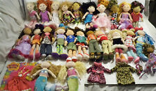 groovy girls boys Manhattan Toy 24 dolls character clothes lot