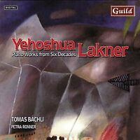 Yehashua Lakner - Piano Works From Six Decades (Bachli, Ronner) [CD]