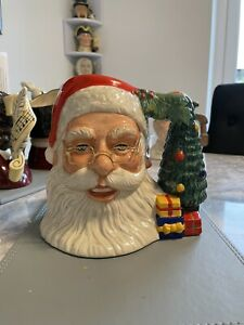 Large Size Santa With Glasses Doulton Character Jug