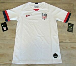 Authentic Nike United States Women's National Team Soccer Jersey Girls Youth L