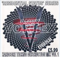 ANDY VORTEX - HARDCORE TECHNO DESTRUCTION MIX VOL.1. (CONTINUOUS DJ MIX CD)