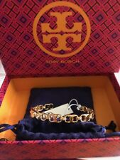 NWT TORY BURCH Delicate Gemini Link Cuff in Tory Gold w/ Gift Box FREE SHIPPING!