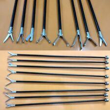 Laparoscopic Scissors Grasper Inserts Forceps Surgical Instruments Set 5 mm -8pc