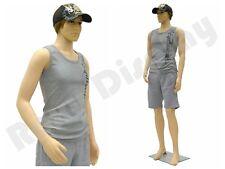 Plastic Durable Male Manikin Mannequin Display Dress Form PS-KEN +FREE WIG