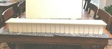"Pottery Barn? Crown Molding  Ledge 36""  Creamy Ivory Finish, Dental Molding"