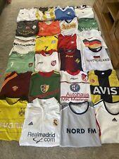 More details for mens vintage football shirt bundle x 24