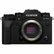 NEW! Fujifilm X-T4 26.1MP Mirrorless Digital Camera (Body Only, Black) #16652855