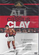 Dvd **MUHAMMAD ALI A.K.A. CASSIUS CLAY** nuovo 1970