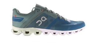 On Cloud Mens Cloudflow Blue Running Shoes Size 10.5 (1884165)