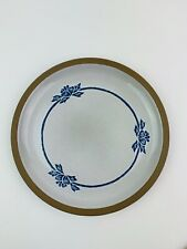 Midwinter Pottery Stoneware Blue Print Made in Japan Dinner Plate