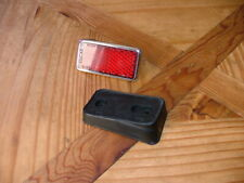 Lucas RER22 Classic Car MG MGB MGC Triumph Red Reflector and Mount