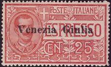 VENEZIA GIULIA  ESPRESSO 1919 - n. 1 INTEGRO CENTRATO € 700