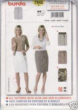 Burda Pattern - 7945 - Misses - 10 to 24 - Skirt