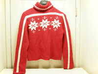 LOOK The UGLIEST ugly crazy tacky vintage CHRISTMAS party SWEATER  LT-22