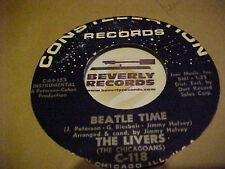 """Beatles related 45 Livers """"BEATLE TIME"""" / """"THIS IS THE NIGHT""""   mint-"""