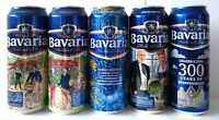 Bavaria beer 5 pcs cans Lieshout Holland 1719 Limited. 500 ml Open bottom!