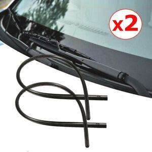"2x 26"" Car Auto Frameless Windshield Wiper Blade Rubber Refill Strips Universal"