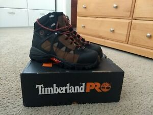 """Timberland Pro 6"""" alloy toe work boots - Men's size 8.5"""