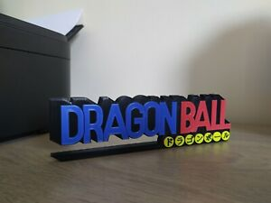 logo dragon ball à exposer collection manga dragonball sign display