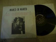 "MARCO DI MARCO""IN CONCERT-disco 33 giri MODERN 1976"" JAZZ ITALY"