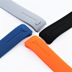 Uhrenarmband 21 mm für Tissot T-Touch II T640.1AA T013420A Red Blue Black Orange