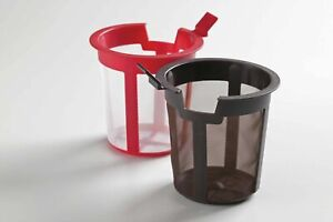 Chatsford Teapot Filters - 2/4/6/10 Cups - Brown/Red Mesh Filter/Tea Strainer