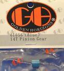 GOLDEN HORIZONS 01056 14T Pinion Gear, Blue: Mini-T, MLST, MRAM (GHH01056)