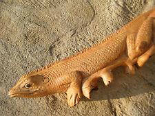 Beer Tap Handle Hand Carved Wood Lizard Iguana draft beer tower kegerator