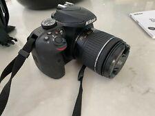 Nikon D3400 24.2 MP Digital SLR DSLR Camera Black with Zoom lens + Storage Bag