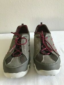 Allrounder Sneaker Ladies leather and mesh Upper grey burgundy 10 Vietnam