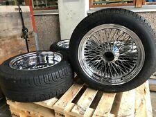 """Speichenrad 17"""" Dayton mit Pirelli 235/50 ZR 17, waren montiert an Jaguar EV12"""