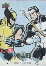 Upper Deck The Punisher Season 1 Sketch Card By Mitch Ballard