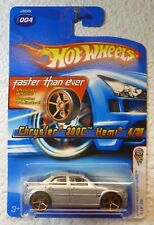 FTE & TURN SIGNAL - 2006 HOT WHEELS First Editions CHRYSLER 300C HEMI #4