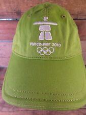 VANCOUVER 2010 Olympics Green Adjustable Adult Cap Hat