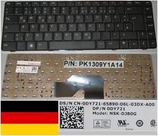 CLAVIER QWERTZ ALLEMAND DELL Inspiron 1370 PK1309Y1A14 NSK-DJB0G 0DY721 NOIR