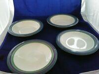 Pfaltzgraff Pottery Ocean Breeze 2-Rimmed Soup/Salad/Pasta Bowls  2-Salad Plates