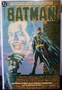 DC Comics 1989 BATMAN Official Movie Adaptation VF/NM