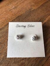 Earrings- Brand New! Sterling silver 925 Knot